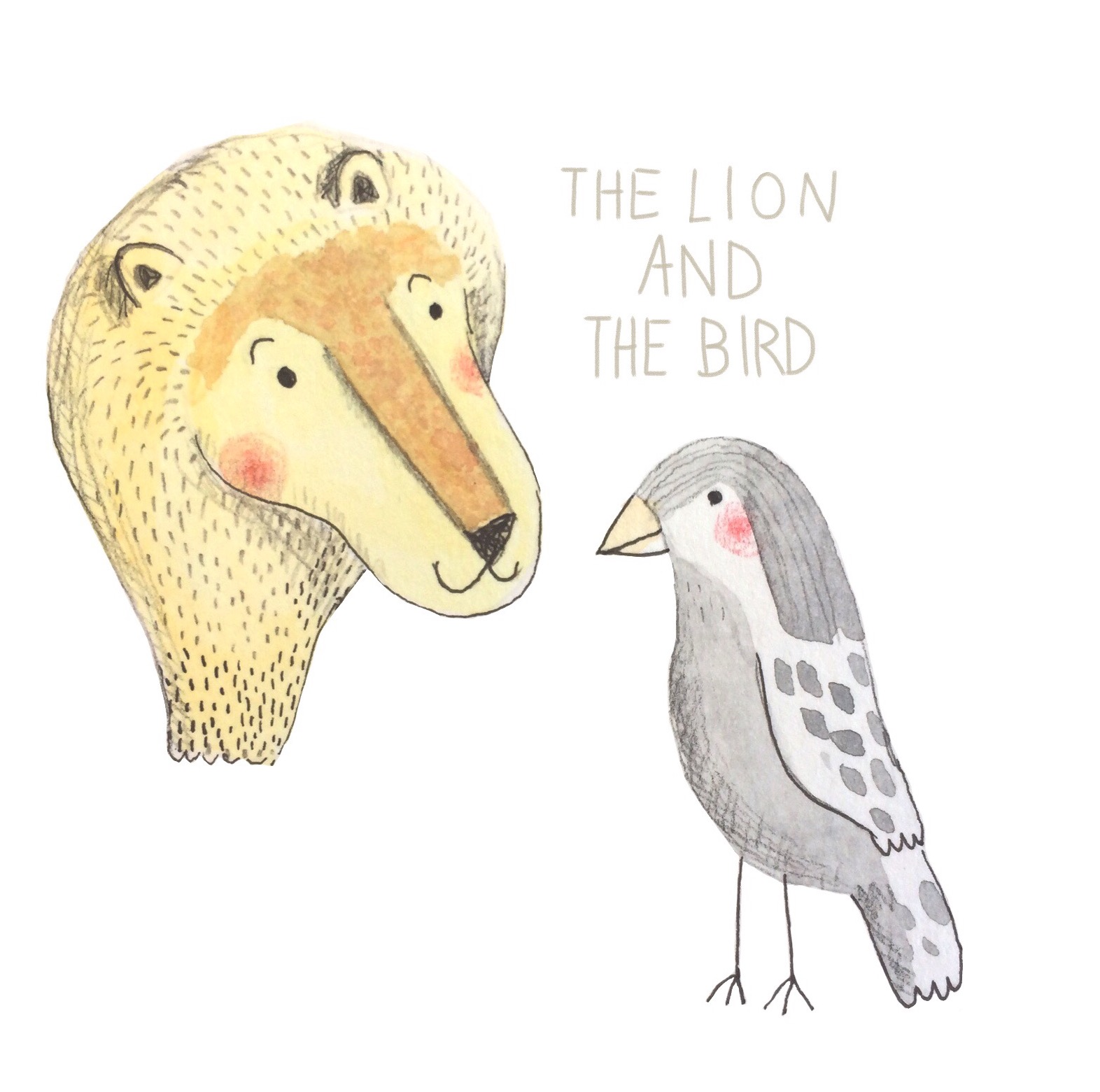 An ode to the Lion and the Bird by Marianne Debuc